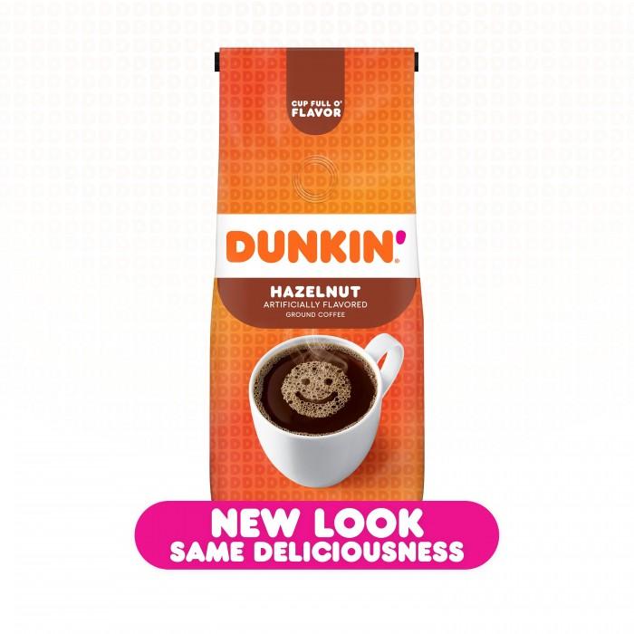 Dunkin' Donuts Ground Coffee Hazelnut
