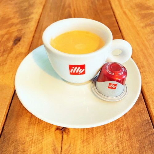 illy Ground Coffee in Capsules INTENSO Espresso Full - Bodied (10 ct)