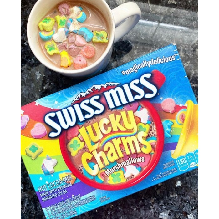 Swiss Miss Lucky Charms Marshmallow Hot Cocoa Mix