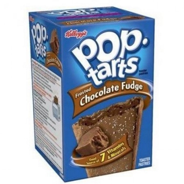 Poptarts Frosted Chocolate Fudge (8 ct)