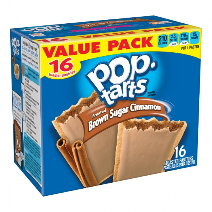 Poptarts Frosted Brown Sugar Cinnamon (16 ct)