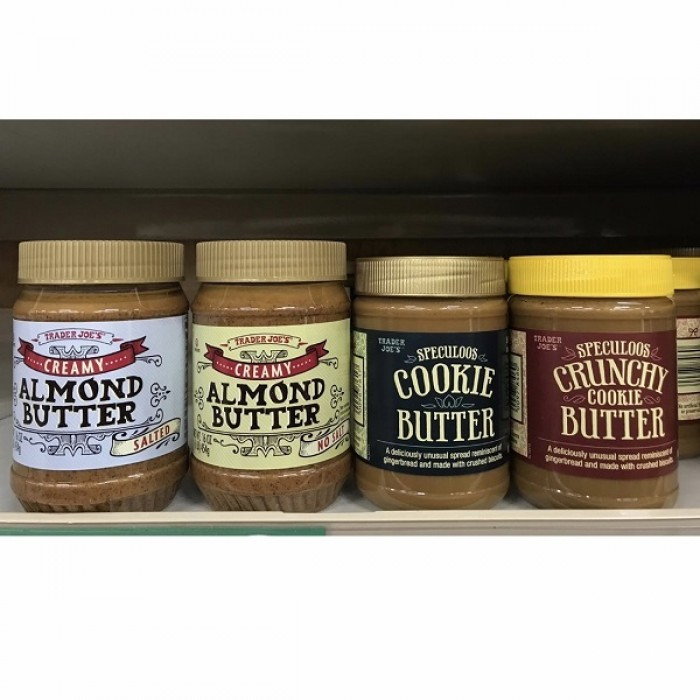 Creamy Almond Butter / Speculoos Cookie Butter By Trader Joe's