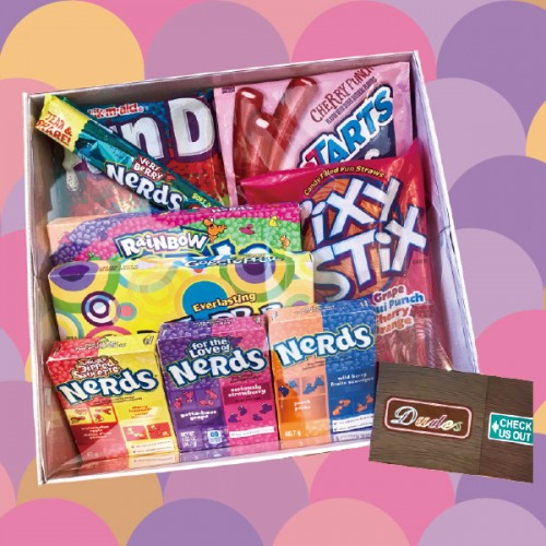 Snack / Candy Combo Set D ( Available with Gift Box)