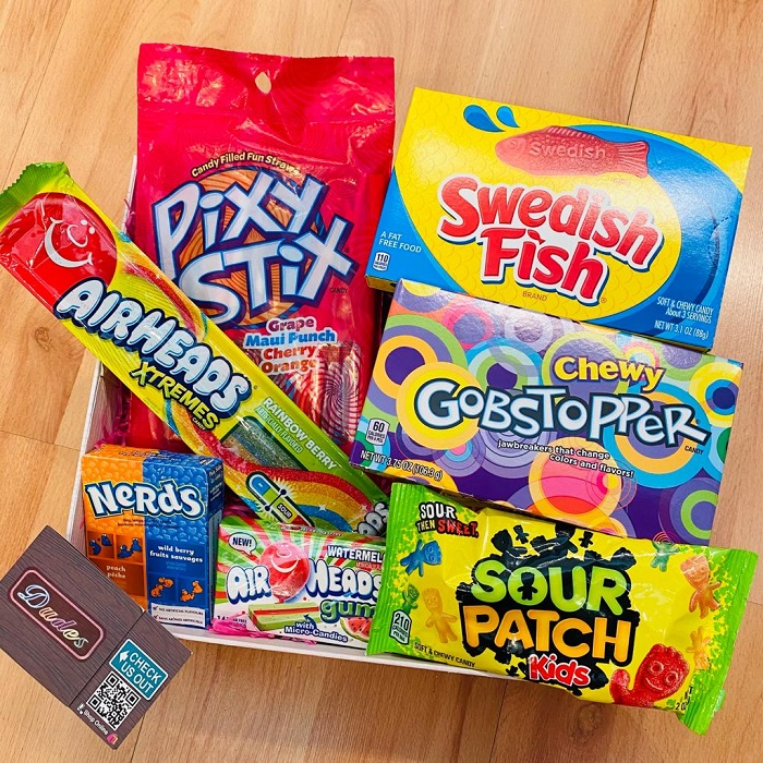 Snack / Candy Combo Set A ( Available with Gift Box)