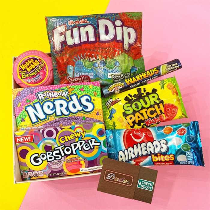 Snack / Candy Combo Set E ( Available with Gift Box )