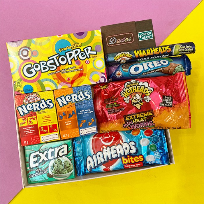 Snack / Candy Combo Set E ( Available with Gift Box)