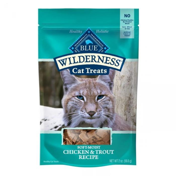 Blue Buffalo Wilderness Chicken & Trout Soft Moist Cat Treats