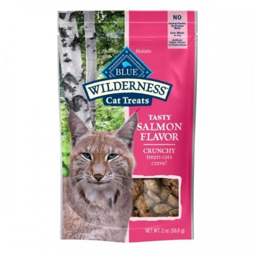 Blue Buffalo Wilderness Salmon Crunchy Cat Treats