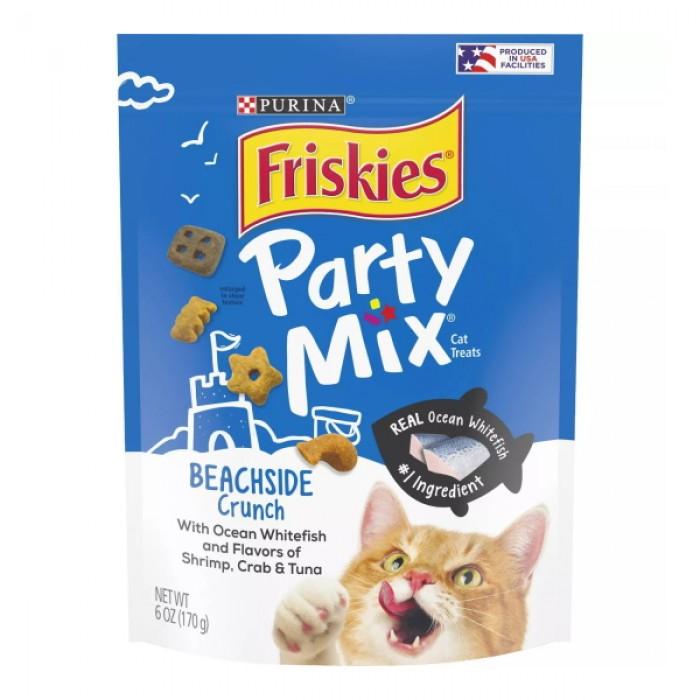 Friskies Party Mix Beachside Crunch Cat Treats