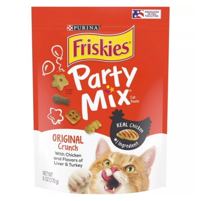 Friskies Party Mix Original Crunch Cat Treats