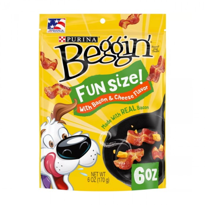 Beggin Beacon & Cheese Dog Treats
