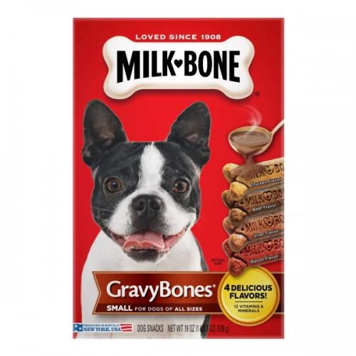 Milk Bone Gravy Bones 4 Flavors Dog Biscuits