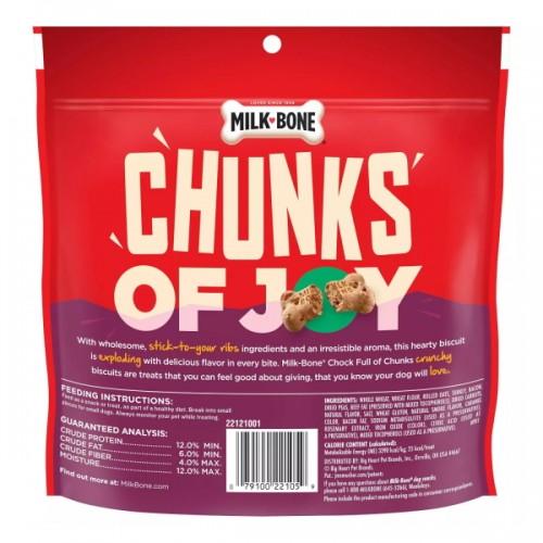 Milk Bone Turkey w Bacon Dog Biscuits Chunks