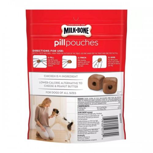 Milk Bone Chicken Pill Pouches Dog Treats