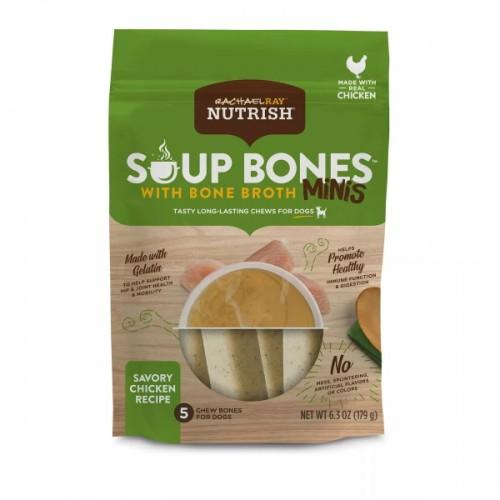 Soup Bones Chicken Dog Chew Bones Minis