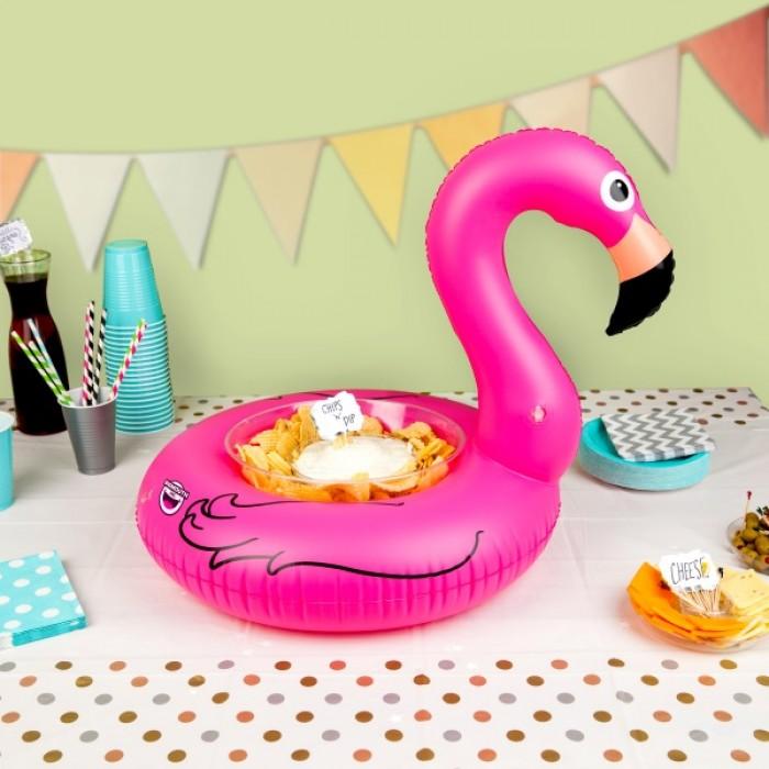 Pink Flamingo Serving Ring