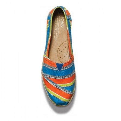 TOMS Bright Eci Stripe Women's Classics