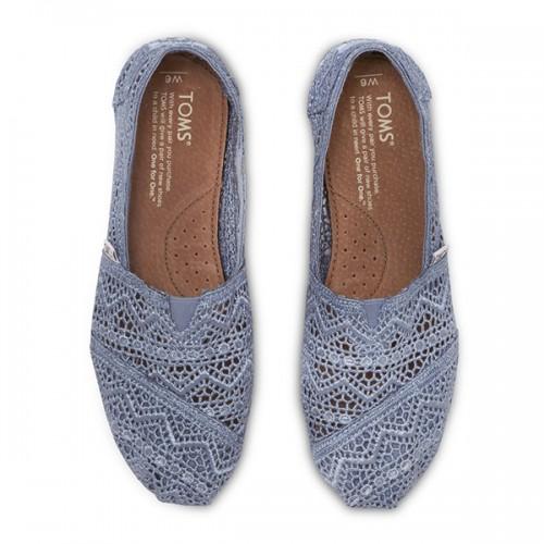 TOMS Denim Crochet Women's Classics