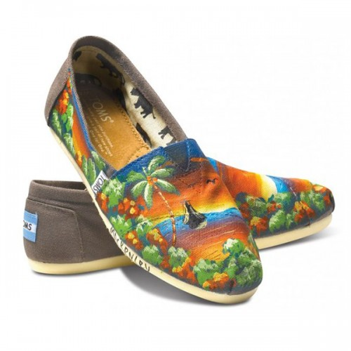 TOMS Norelus Sailboat Women Classics (Limited Edition)