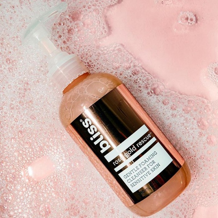 Rose Gold Rescue Foaming Cleanser by BLISS **7-10 Biz Days Delivery