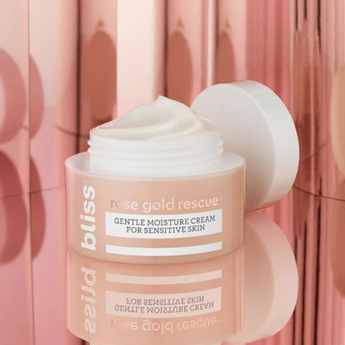 Rose Gold Rescue Moisturizer Cream by BLISS **7-10 Biz Days Delivery
