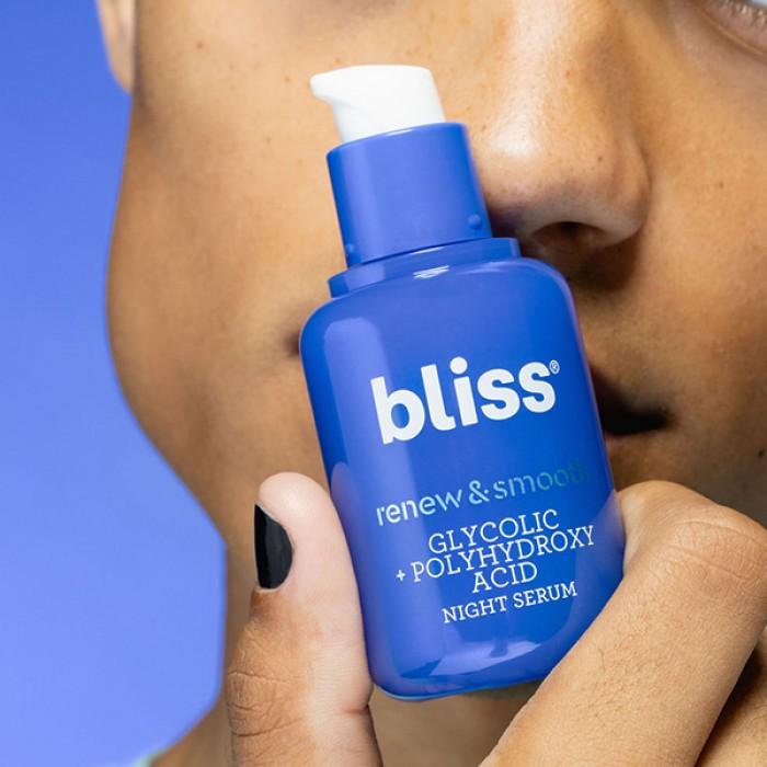 Renew & Smooth Night Serum by BLISS **7-10 Biz Days Delivery