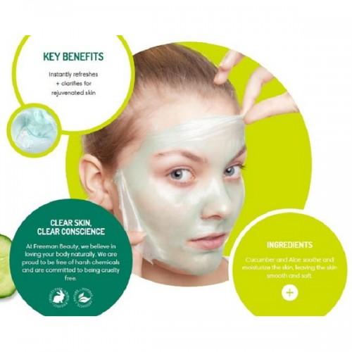Renewing Cucumber Peel-Off Gel Mask (6oz) by FREEMAN BEAUTY