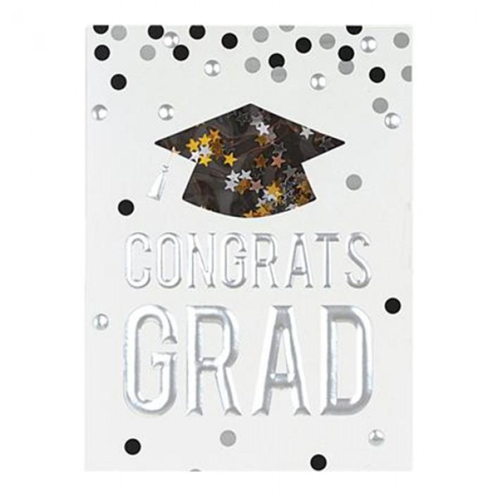 congrats grad graduation card