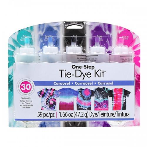 Tie Dye Kit - Carousel [ 5 Squeeze Bottles  ]