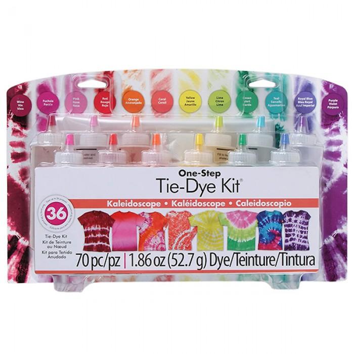 Tie Dye Kit - 12 Squeeze Bottles