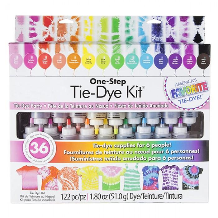 Tie Dye Kit - 18 Squeeze Bottles