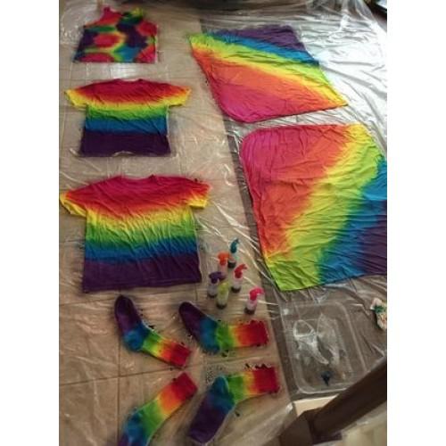 Tie Dye Kit - 7 Spray Bottles