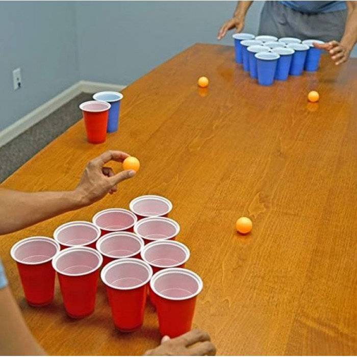 Beer Pong Cups and Balls Set